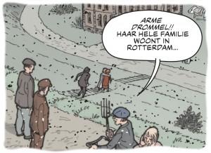 """Illustratie uit """"Strijd om de Grebbeberg"""""""