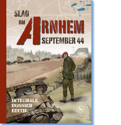 cover Slag om Arnhem stripboek